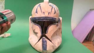 Шлем клона pepakura. Clon truper Helmet pepakura.