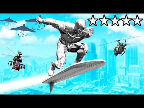 GTA 5 als SILVER SURFER spielen!!