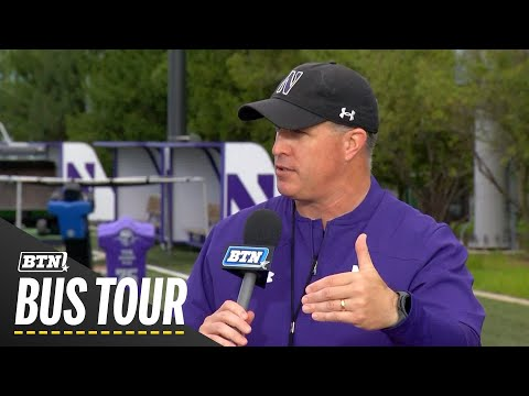 2019 BTN Bus Tour: Stop No. 14, Northwestern Wildcats