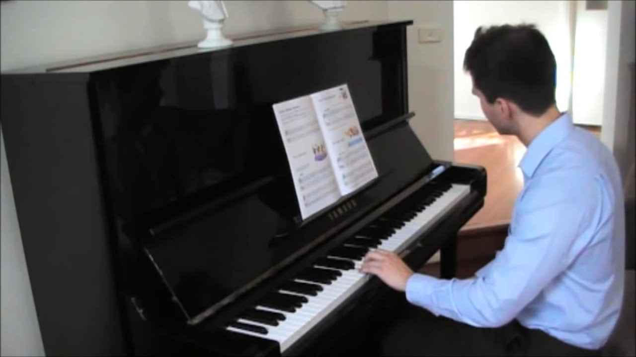 Alfred's Basic Piano Library Lesson Book Level 1B - YouTube