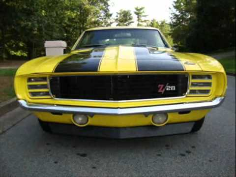Yenko Camaro For Sale >> For Sale 1969 Camaro Z28 RS $44,000 - YouTube