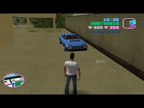 GTA Vice City - Tips & Tricks - How To Find The VCPD Cheetah