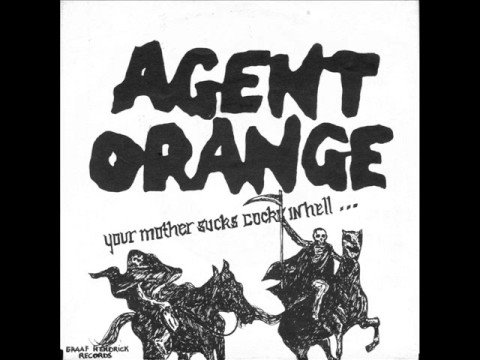 Join told your mother suck cocks in hell agent orange protest against