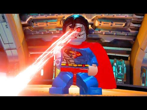 LEGO Batman 3 Beyond Gotham - How to Unlock Cyborg Superman & Showcasing his Abilities