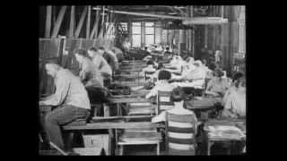 Making A Stetson (a/k/a Birth Of A Hat) - Rare Silent Era Industrial Film
