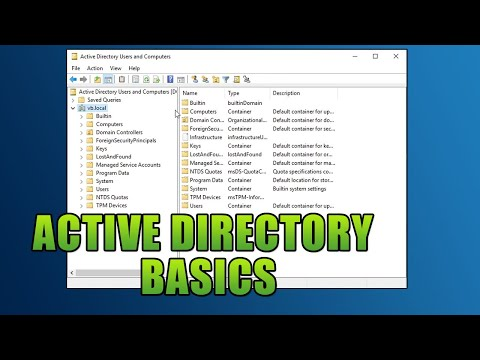 Active Directory Basics For CTF Players