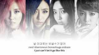 T-ara - Don't leave~ lyrics on screen (KOR/ROM/ENG) MP3