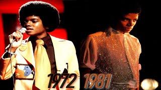 Michael Jackson - Ben   Evolution   1972 - 1981