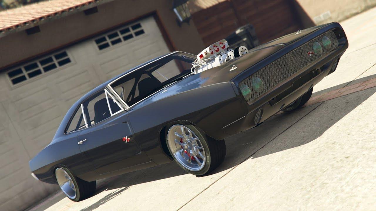 Gta V Fast And Furious 1970 Dodge Charger Crash Test