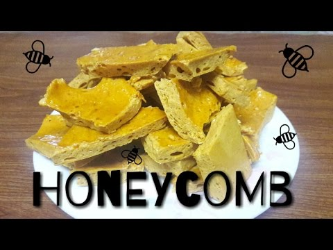 How to make homemade honeycomb | Easy