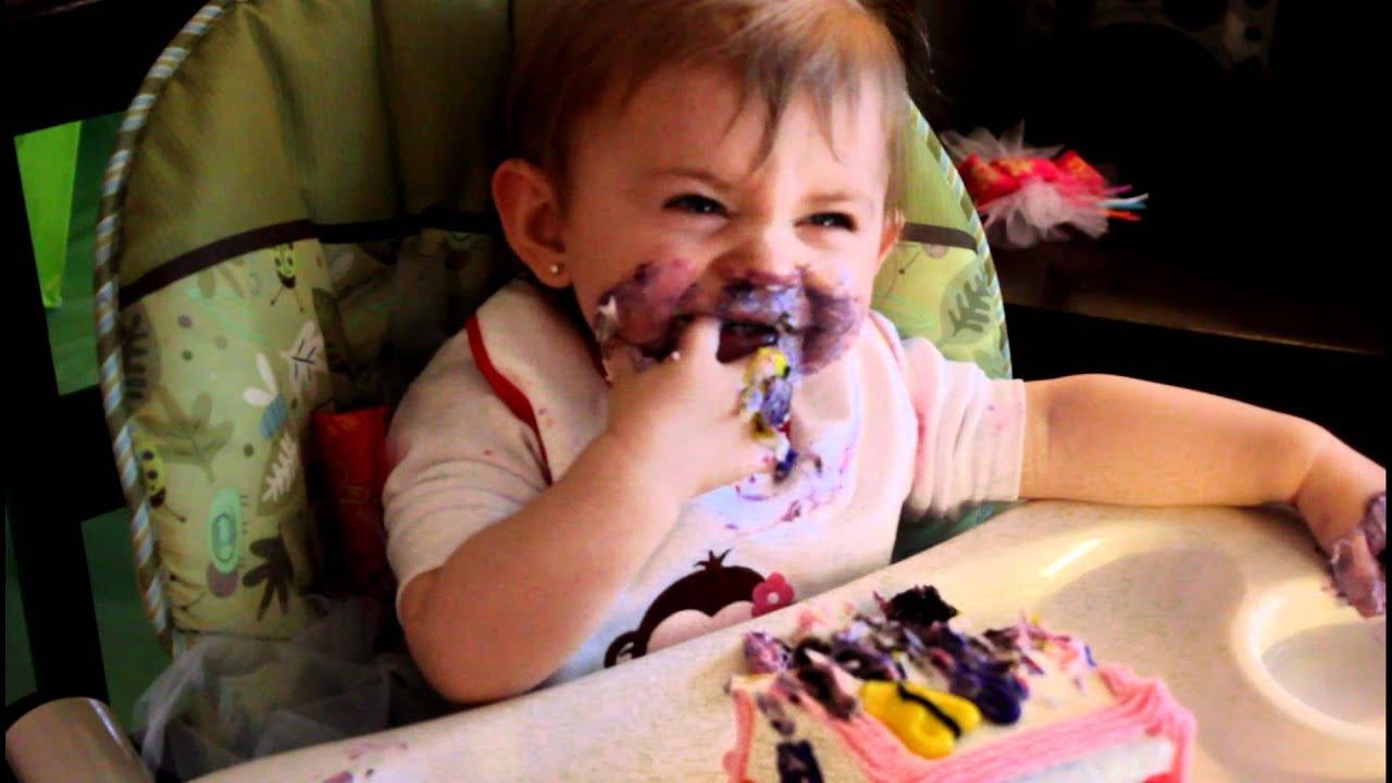 Babys First Birthday Cake Clip