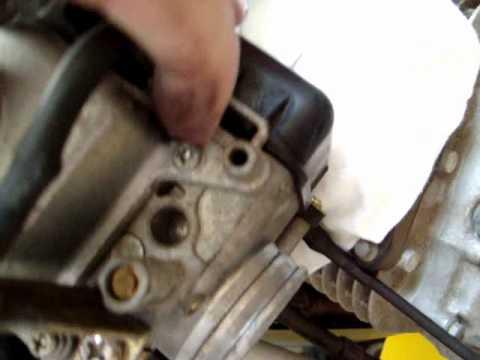 2003 Honda Foreman 450 Wiring Diagram Honda 400ex Carb Dynojet Rejetting Youtube