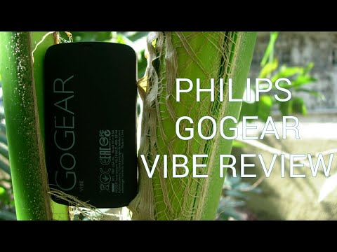 Philips GOGEAR VIBE Review.