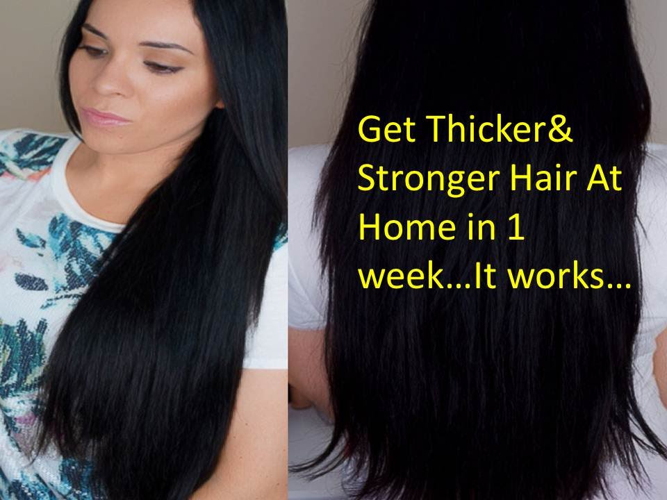How To Grow Thick Hair In One Month Naturally