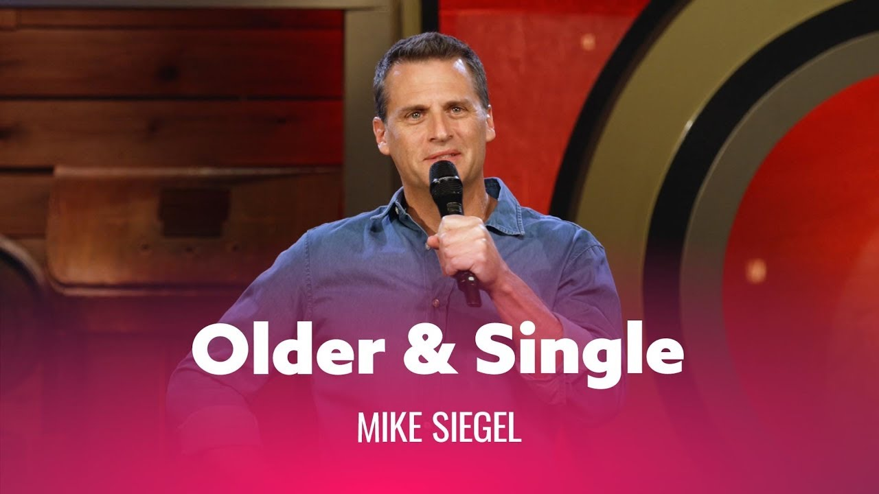 DryBar Comedy When You're Older & Single. Mike Siegel