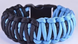 "DIY Make the ""Split Decision"" Paracord Survival Bracelet - BoredParacord"