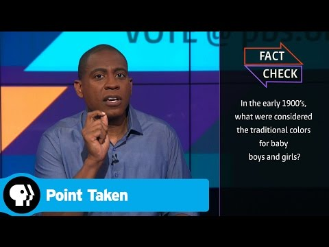 POINT TAKEN | Fact Check: Pink and Blue | PBS