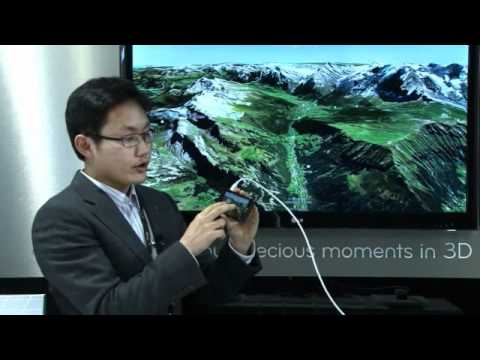MWC 2012 - LG Optimus 3D Max (P720)