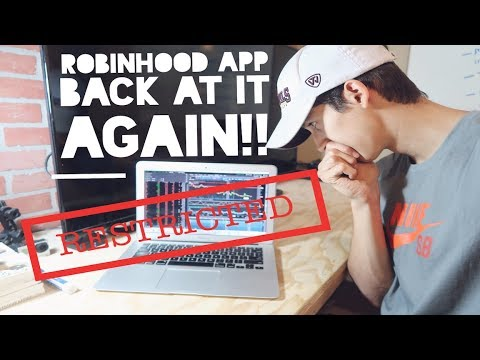 Robinhood App Restricted My Account Again | How To Avoid This!