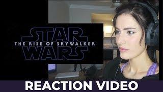 Star Wars: The Rise of Skywalker Teaser Trailer Reaction Video