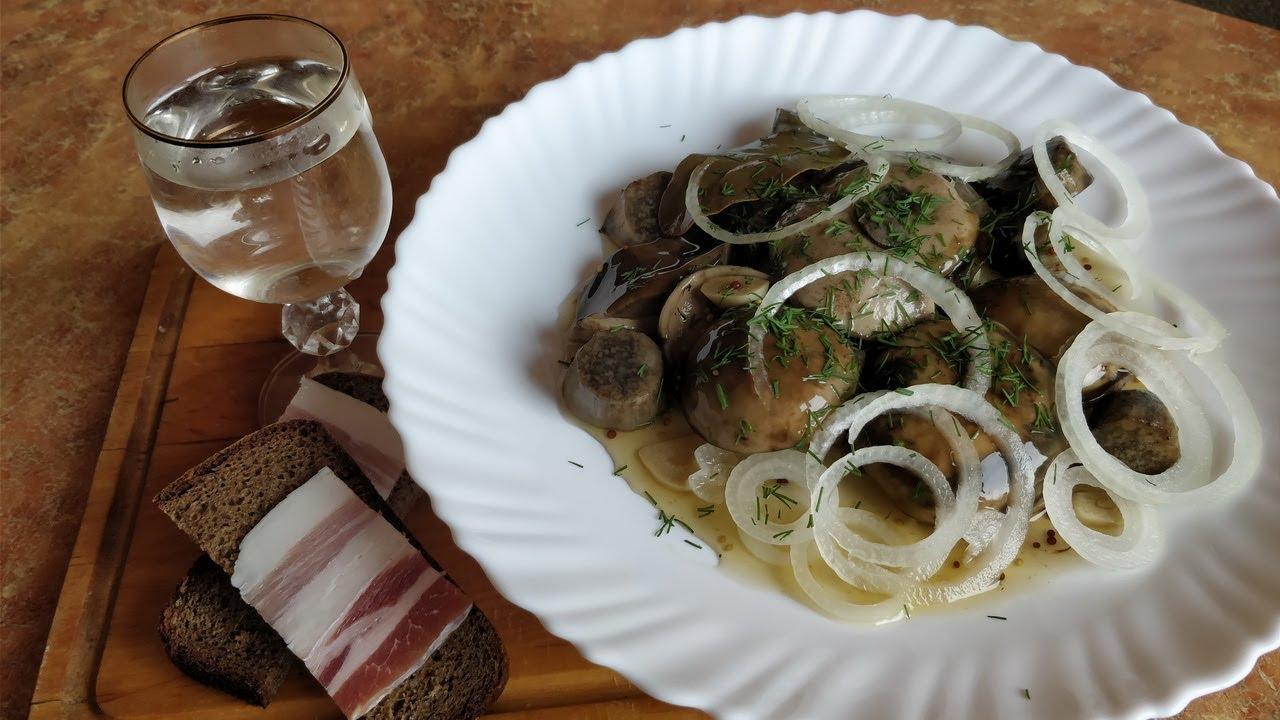 Грибы без уксуса / Универсальный маринад для грибов / Маринованные грибы за 2 часа