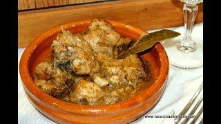 Conejo en salsa, receta casera, MUY FACIL | Video 93
