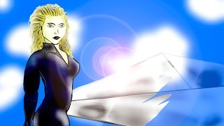 Invisible Woman - Fantastic 4  - Photoshop Fan Art Drawn in Hd 720p Chase4884