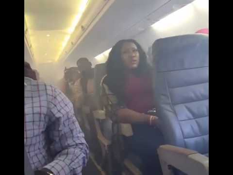 Aero Contractor plane filled by smoke on flight in Nigeria