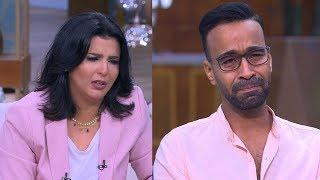 منى الشاذلي توقف برنامجها بسبب بكاء محمود الليثي | في الفن