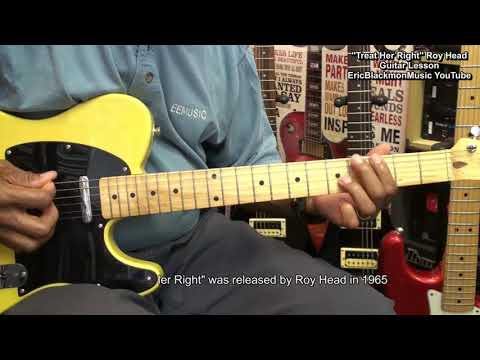 TREAT HER RIGHT Roy Head 1965 Guitar...