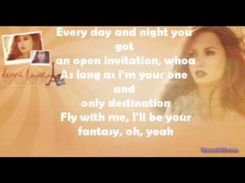 Demi Lovato Ft Iyaz Your My Only Shorty Lyrics