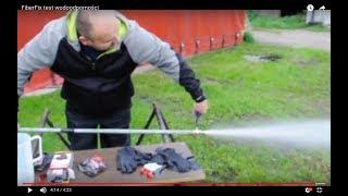 FiberFix test wodoszczelności