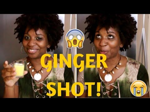GINGER SHOT | QUICK & EASY!