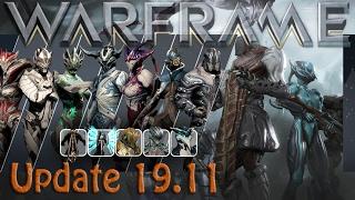 Warframe - Update 19.11.0