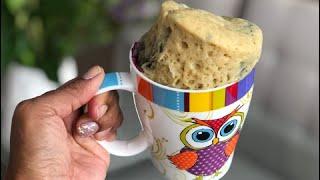 ¡3 mug cake en menos de 2 minutos!