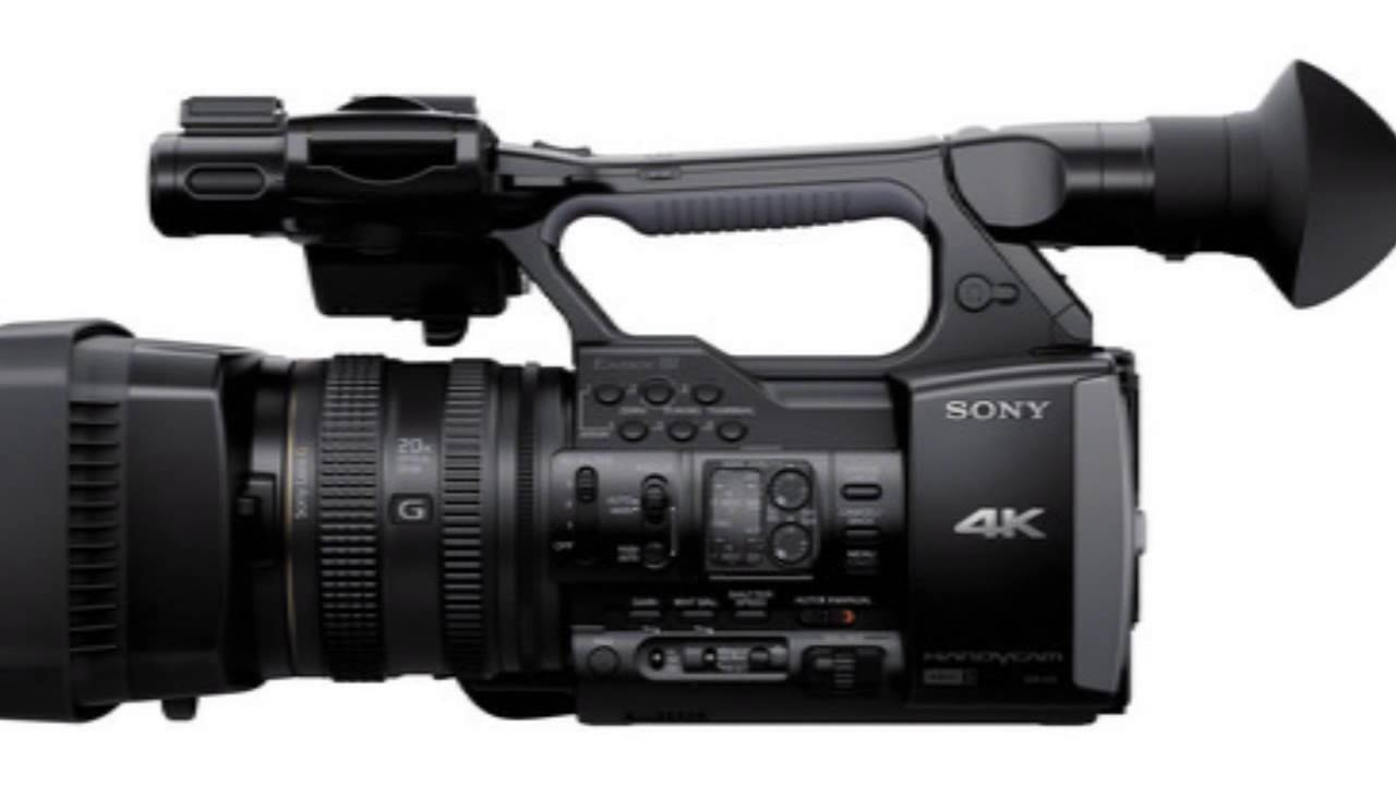 Sony Fdr-ax1 Digital 4k Video Camera Recorder Review