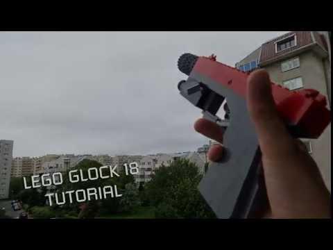 Lego Glock 18 Tutorial Youtube