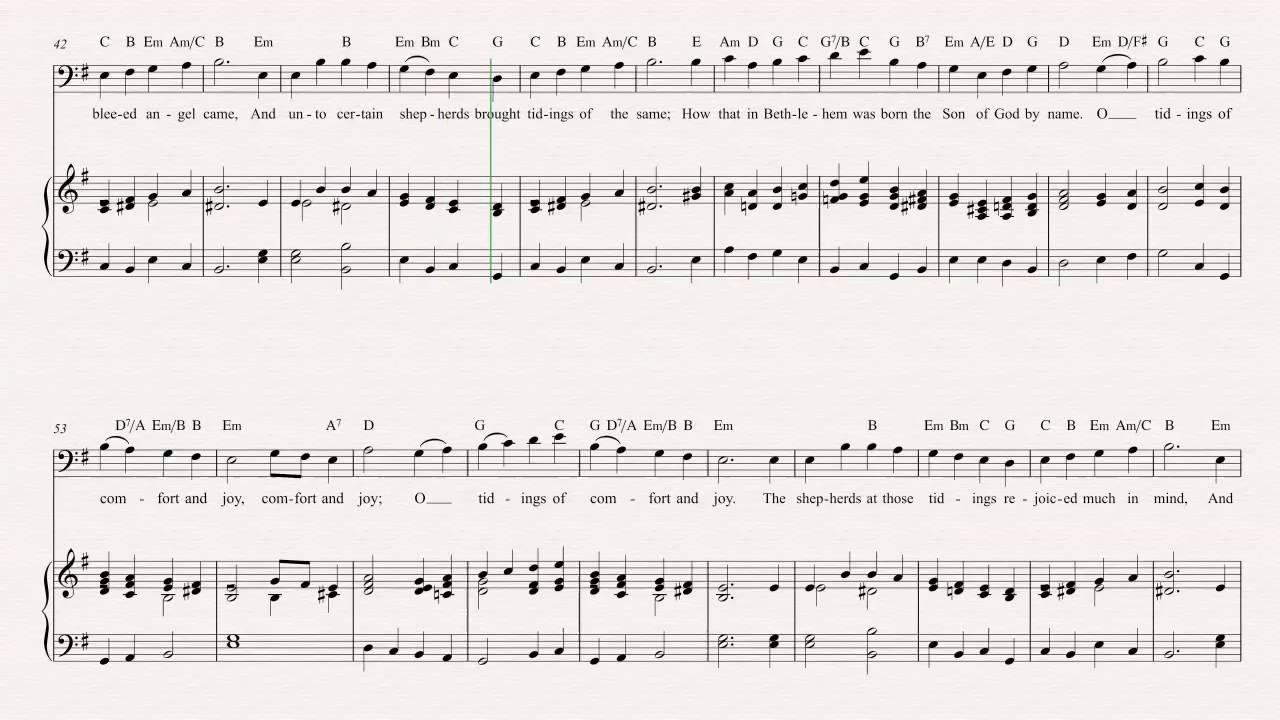 Euphonium - God Rest Ye Merry Gentlemen - Christmas Carol - Sheet ...