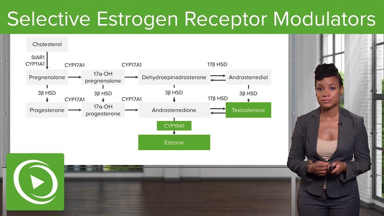 Selective Estrogen Receptor Modulators – Gynecology | Lecturio