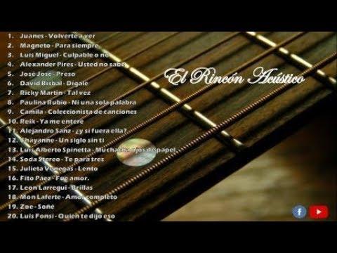 Los 20 mejores covers acústicos de baladas en español