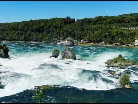 Largest Plain Waterfall in Europe, Rhine Falls, Switzerland