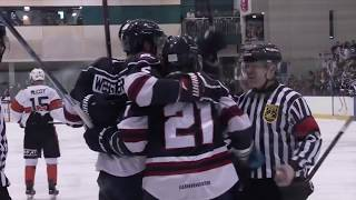 2017 AIHL Semi-Final 1 Highlights: Melbourne Ice v Melbourne Mustangs