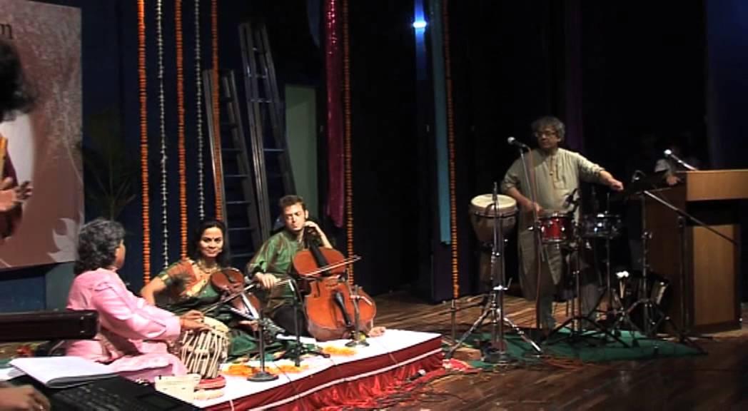 Fusion - Sangeeta Shankar,Ashwin Srinivasan, Taufiq Qureshi, Ramkumar Mishra, Santosh Mulekar - 3