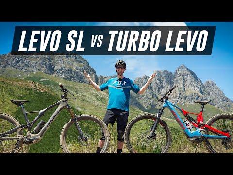 Specialized Levo SL Vs Turbo Levo - Which Is FASTER?!