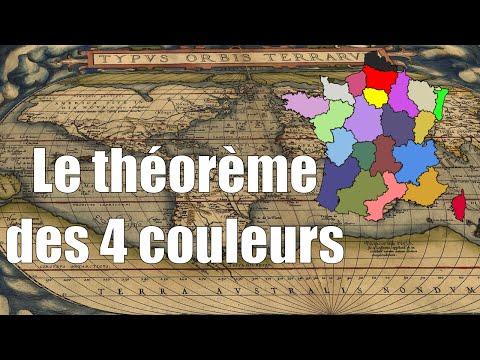 Le théorème des 4 couleurs — Science étonnante #4