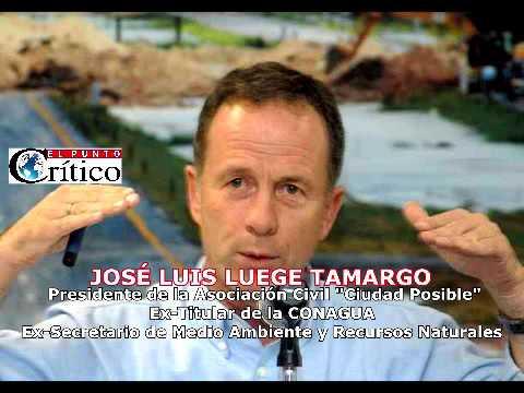 """""""No se va a construir el #NAICM simplemente porque el suelo no es apto"""": José Luis Luege"""