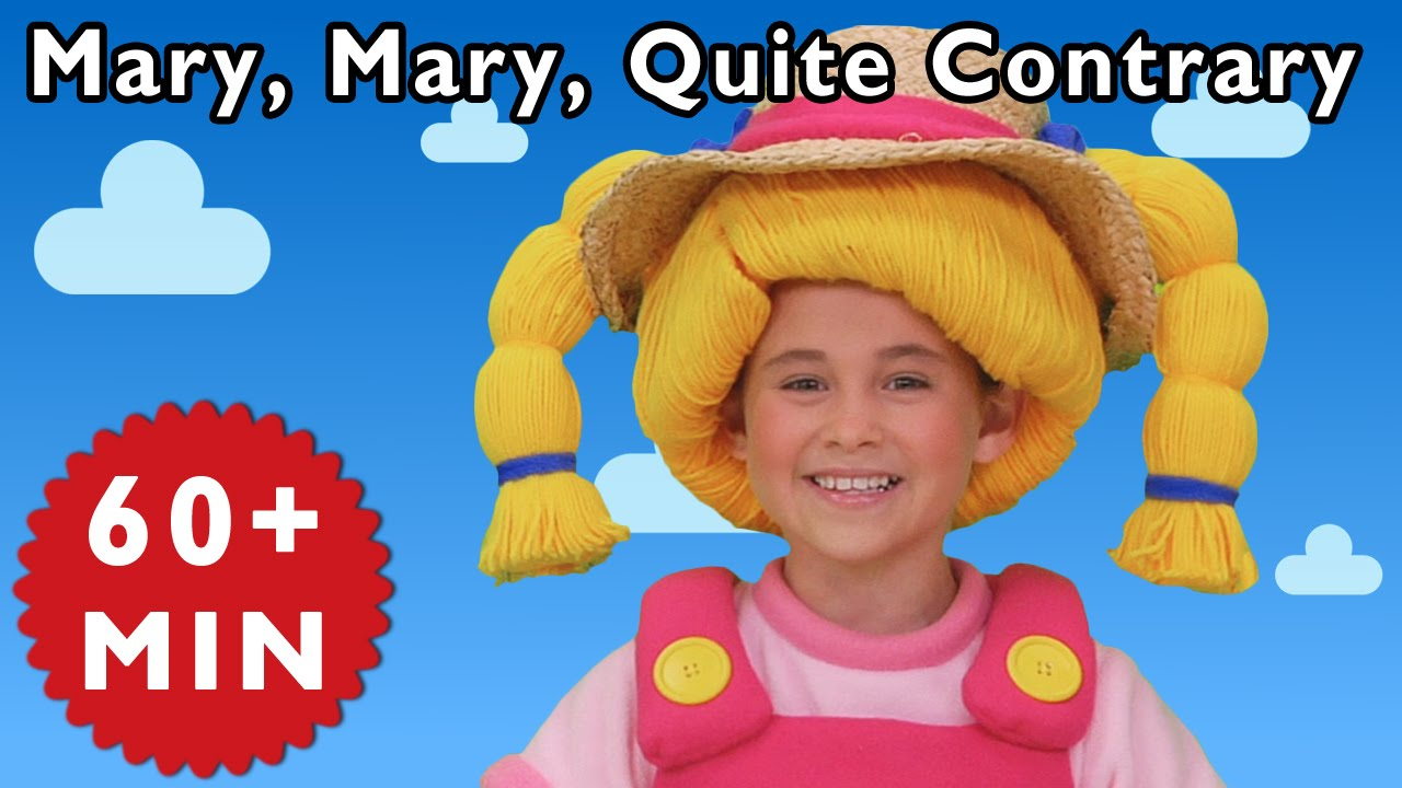 mary mary quite contrary and more nursery rhymes from mother goose club youtube. Black Bedroom Furniture Sets. Home Design Ideas