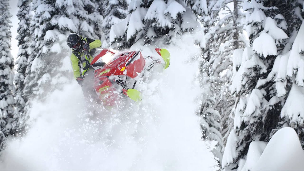 Ski Doo Freeride >> 2016 Ski-Doo Summit and Freeride - YouTube