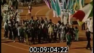 1985年世界青年学生祭典モスクワ祭典開会式