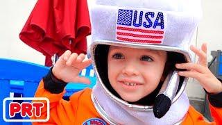 Vlad e Nikita querem ser astronautas